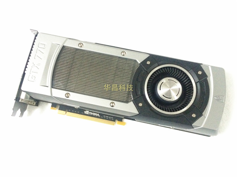 asus original GTX770 2G public version graphics card used 90%new image