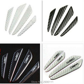 4PCS Car Sticker Door Protection Guards Stickers for Jaguar xf xe x-type xj s-type f-pace XFR XKR XJR car-styling accessories