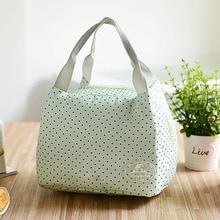 Изолированная сумка для обеда Ausuky для женщин и детей, Термосумка-холодильник для пикника, сумки для еды для женщин, женская утепленная Термосумка с холодным утеплением