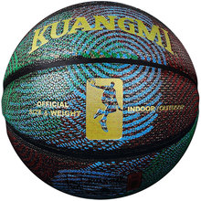 Kuangmi Kuangmi Cool Youths Street Game Ball Shooting Trainer Basketball PU Leather Size 7 Basket Ball Outdoor Indoor kuangmi 2018 black white pu leather basketball ball new youths street game training basketball size 7 indoor and outdoor