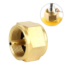 Outdoor Camping Hiking Stove Adaptor MAPP Gas Adapter Connector Converter