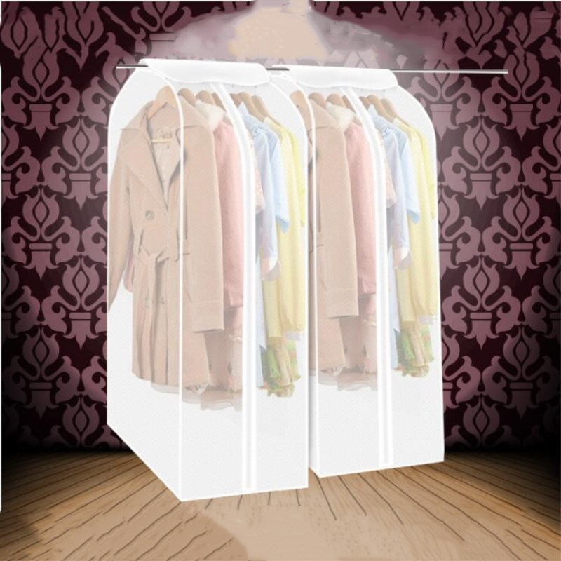 Online Shop Transparent Dust Bag Wedding Dress Hanging Bags Organizer  Storage Bag Garment Suit Coat Dust Cover Wardrobe Storage Bags | Aliexpress  Mobile