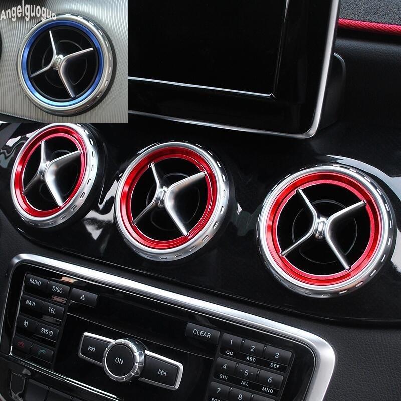 5 pcs Mercedes-Benz DoorStep Premium stickers decal emblem logo C-class A-class