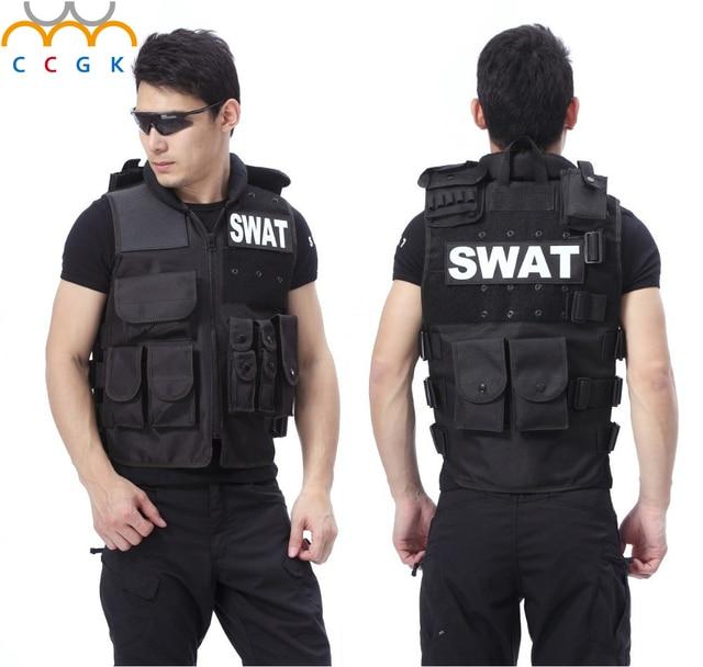 colete tatico Combat Strike sog gilet tactique voodoo ciras outdoor live cs Vest  pouches Warror Molle Tactical cs swat vest