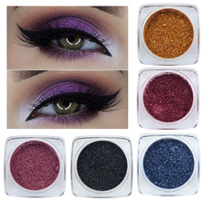 2019 Hot 12Color Pigment Eyeshadow Glitter Powder Shimmering Colors Eye Shadow Palette Metallic Makeup Cosmetic тени для век