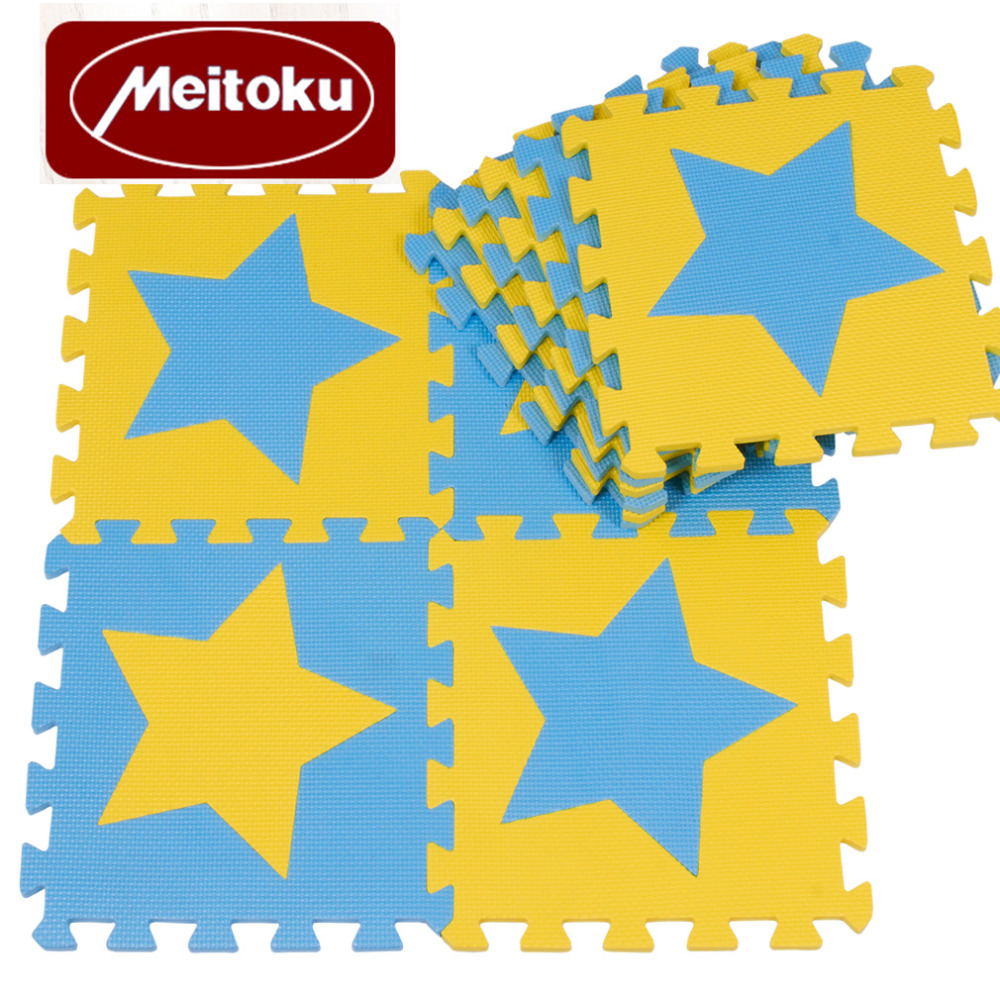 Meitoku-Baby-EVA-Foam-Puzzle-Play-Mat-kids-Star-Rugs-Toys-carpet-for-childrens-Interlocking-Exercise-Floor-TilesEach30cmX30cm-5