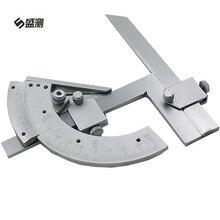 Big discount 1 PCS 320 Degree Universal Bevel Protractor Precision Angle Finder Angular Dial Length Caliper Measuring Gauging Hand Tool D1024
