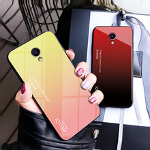 MUCHI Cover For Meizu M5 Case Tempered G