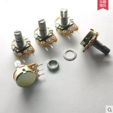 WL бренд 3 года гарантии линейный потенциометр пот Одноместный соединение усилитель горшки 1 K, 2K 5K 10K 20K 50K 100K 250K 500K 1 м