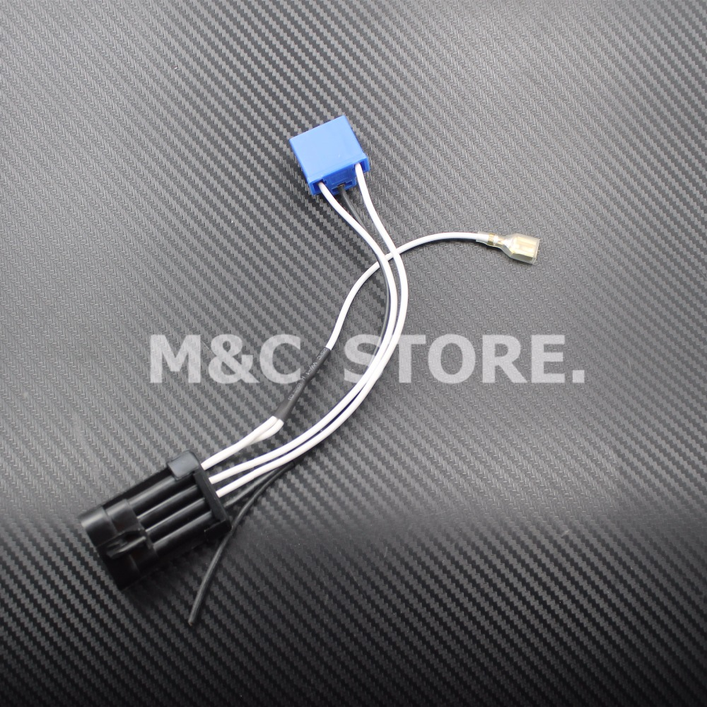 Motorcycle LED Headlamp Headlight Wiring Harness For Harley 14 later Touring and Trike models aliexpress com buy motorcycle led headlamp headlight wiring harley fat bob headlight wiring harness at nearapp.co