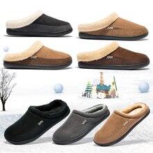 Брендовые домашние тапочки из хлопка; Мужская зимняя плюшевая обувь для ванной; Мужская теплая домашняя обувь в австралийском стиле для взрослых; Pantufa