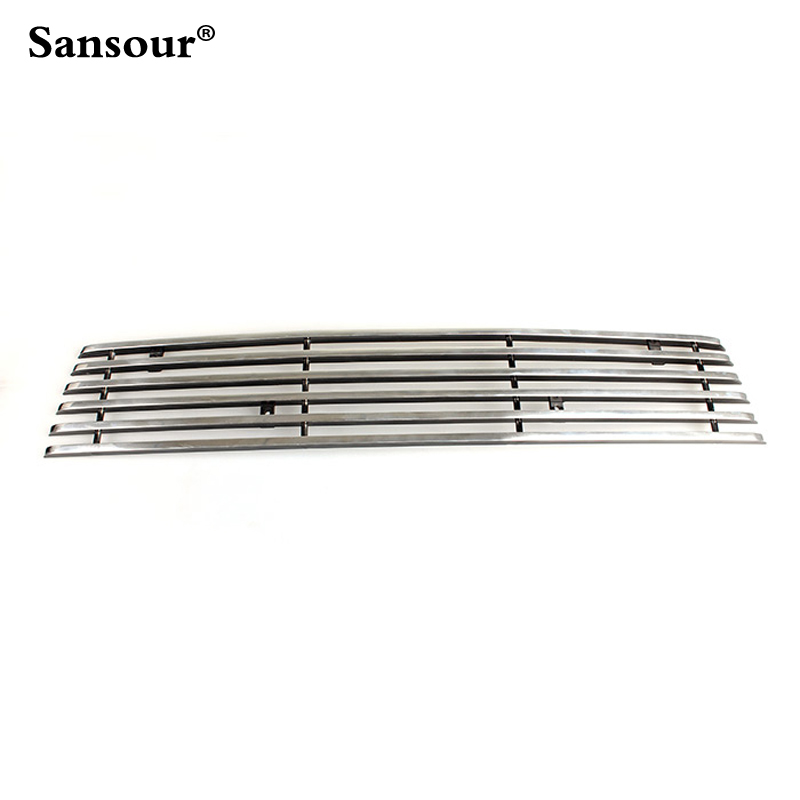 Stainless Front Bottom Grille Grill Molding Cover Decoration Accessories For Ford Explorer 2011 - 2014 1pcs