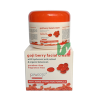 Hot QIANSOTO Goji Berry Anti Aging Hydration Hyaluronic Acid Retinol Organic Botanicals Paraben Free Facial Cream