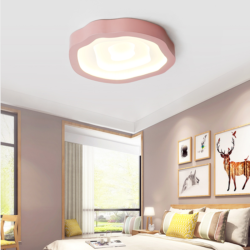 Surface Mount Modern smart LED Ceiling Light Living Room Bedroom Bathroom Kitchen dimmable remote control Kids room decoration