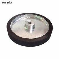350 50 35mm Belt Sander Rubber Wheel Flat Surface Belt Grinder Contact Wheel Customized Support