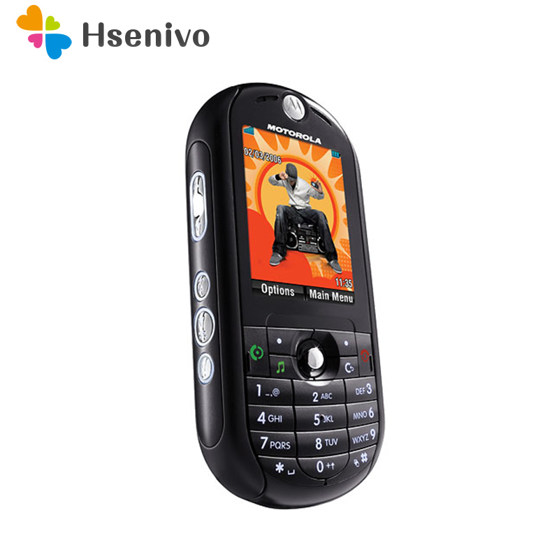 E2 100% Original Unlocked Motorola ROKR E2 2G Mobile Phone 2.0 Inch Bluetooth MP3 FM Radio Phone One Year Warranty Free Shipping