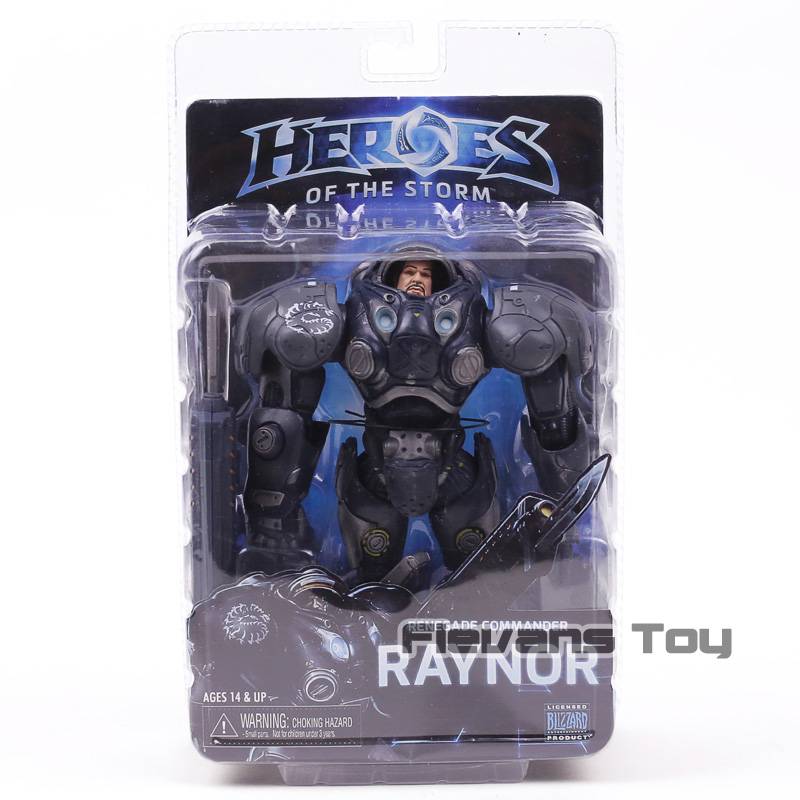 NECA Heroes of the Storm Series 3 Renegade Commander Raynor PVC Action Figure Collectible Model Toy legion illidan heroes of the storm pvc action figure collectible model toy 7 18cm kt1816