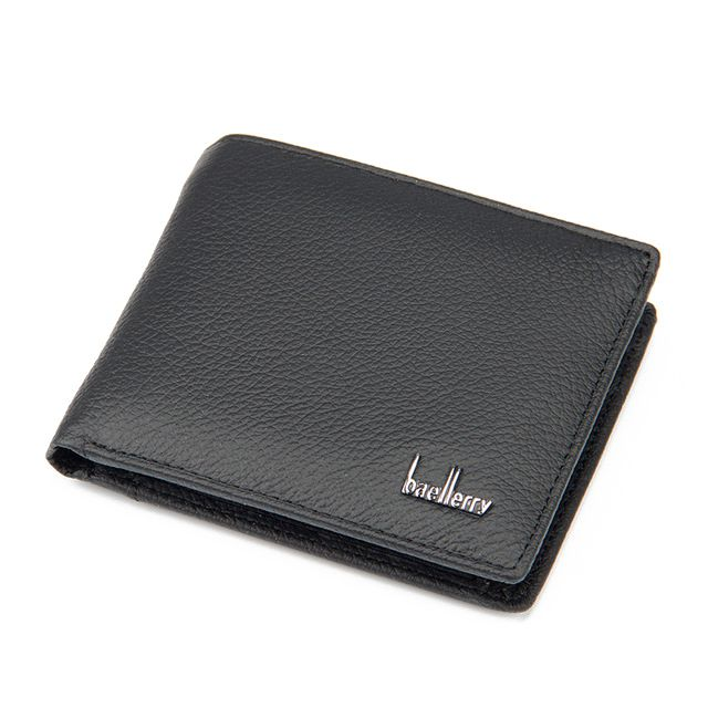 Baellerry New Leather Brand Men Wallets Design Short Small Wallets Male Mens Purses Cardholder Wallets