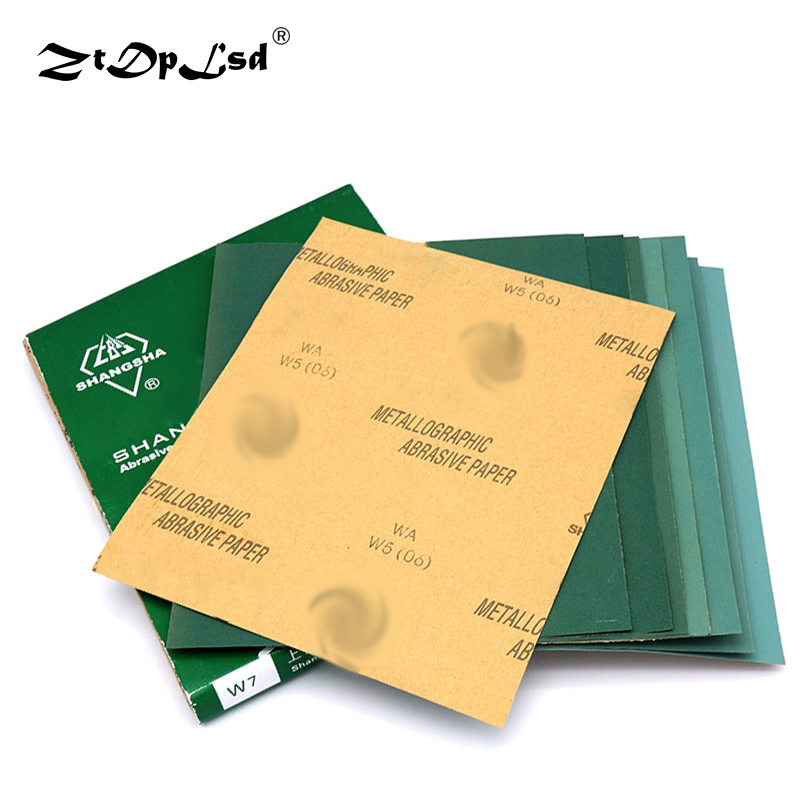 1X Dry Abrasive Paper Sand Grinding Polishing Polished Cloth Sanding Sandpaper Surface Finishing Made Waterproof Silicon Carbide