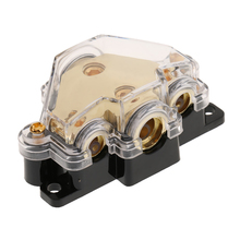 1 Pcs Car Audio Power/Ground Cable Splitter Distribution Block Car Styling Auot Car Accessory Distribution Block 3*1.8*1.2 Inch стоимость