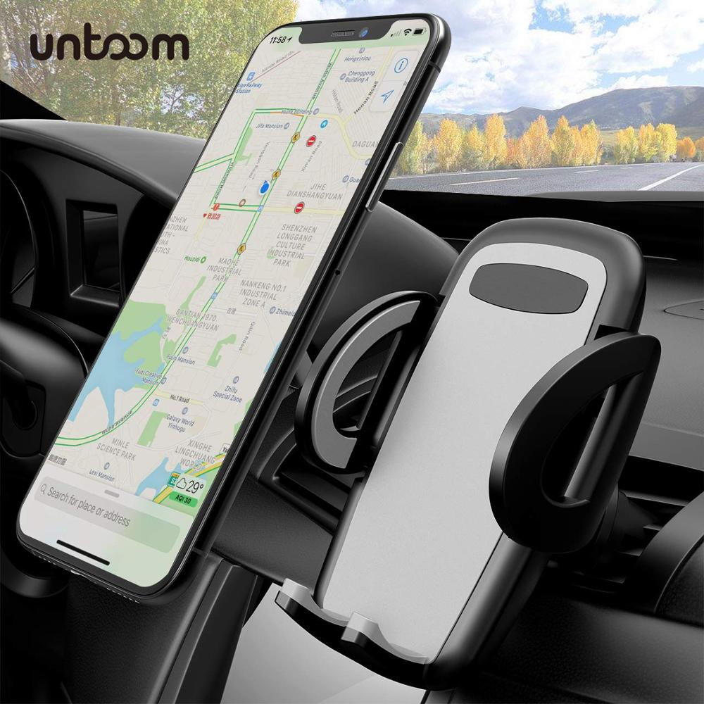 Universal Air Vent Phone Holder Car Mobile Phone Holder Stand Car Cell Phone Mount For IPhone X Xs Xr 8 7 6 Xiaomi Redmi Samsung