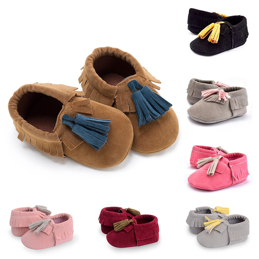Baby Soft Bottom Anti-skid Toddler Shoes New Casual Shoes 0-1 Year Old Baby Shoes Baby First Walkers