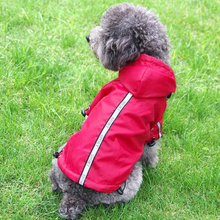 Waterproof Dog Raincoat Warm Velvet Breathable Pet Hoodie Jacket Puppy Cat Clothes Rain Coat For Small Medium Large Dogs