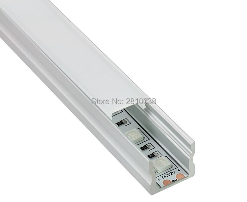 50 X 1M dəstləri / Lot Square Anodlaşdırılmış alüminium - LED işıqlandırma - Fotoqrafiya 5
