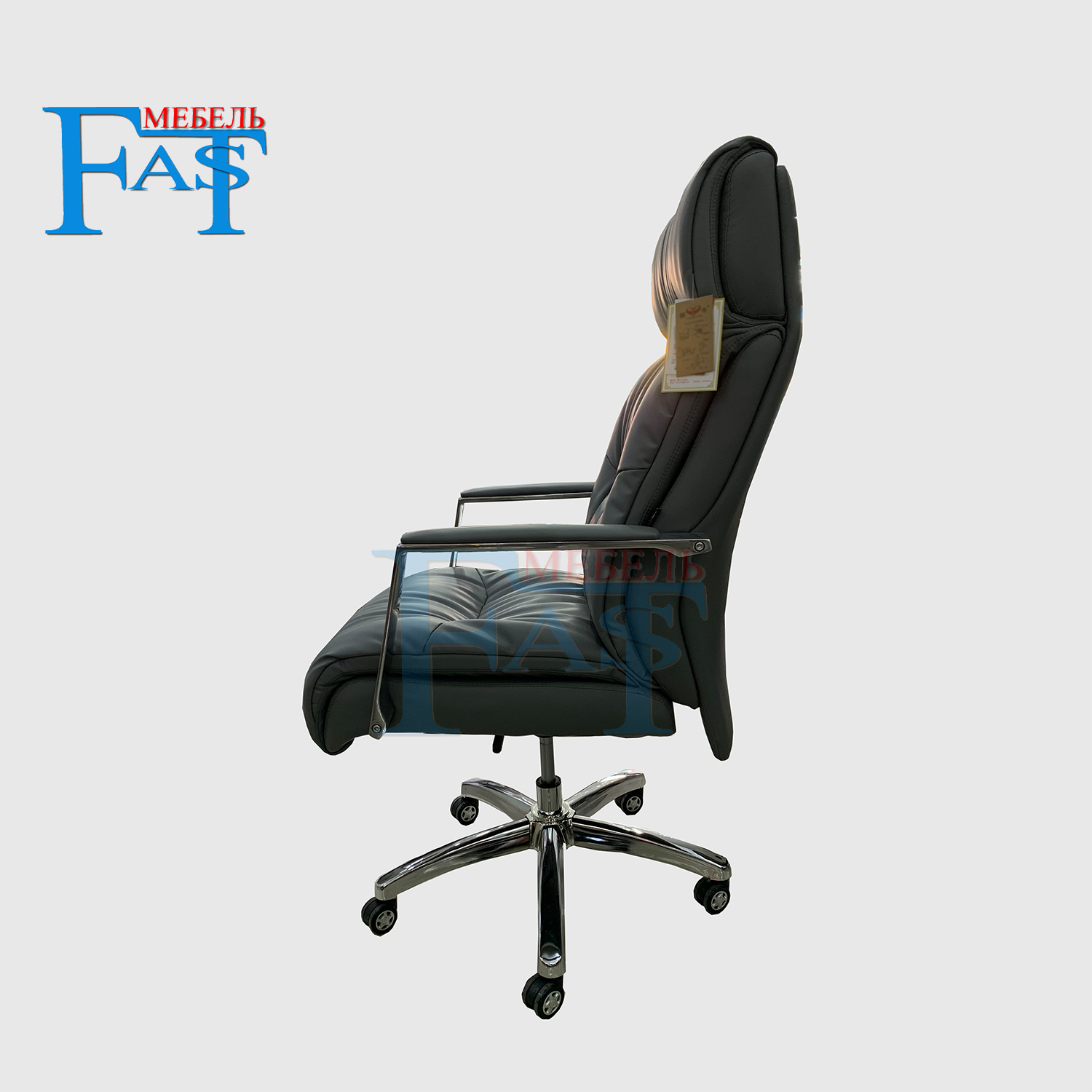Купить с кэшбэком New aluminium office armchair home armchair computer armchair leather armchair swingable armchair with lift and swivel function