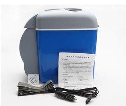 12V 7.5L портативный мини-холодильник с подогревом и охлаждением, небольшой холодильник с морозильной камерой для горячего и холодного двойно...