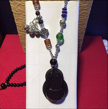 Buy rainbow obsidian pendant and get free shipping on aliexpress zcd 2017 604natural black necklace ice rainbow obsidian pendantchina aloadofball Gallery