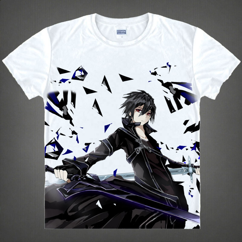 sword god domain optimal ji the silk na tung Poetry is anime peripheral summer wear short sleeve T-shirt dress clothes
