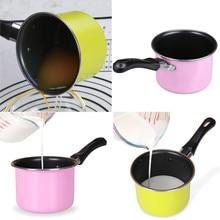 Полезный портативный суповый горшок, инструмент для приготовления пищи, антипригарный молочный горшок, мини-соус, кастрюля, кастрюля
