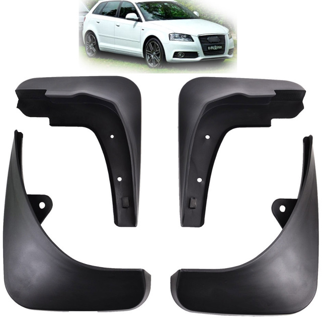 front rear mud flaps fit for 2004 2012 audi a3 sportback hatchback rh aliexpress com Mud Flaps Audi A7 Mud Flaps Audi A6