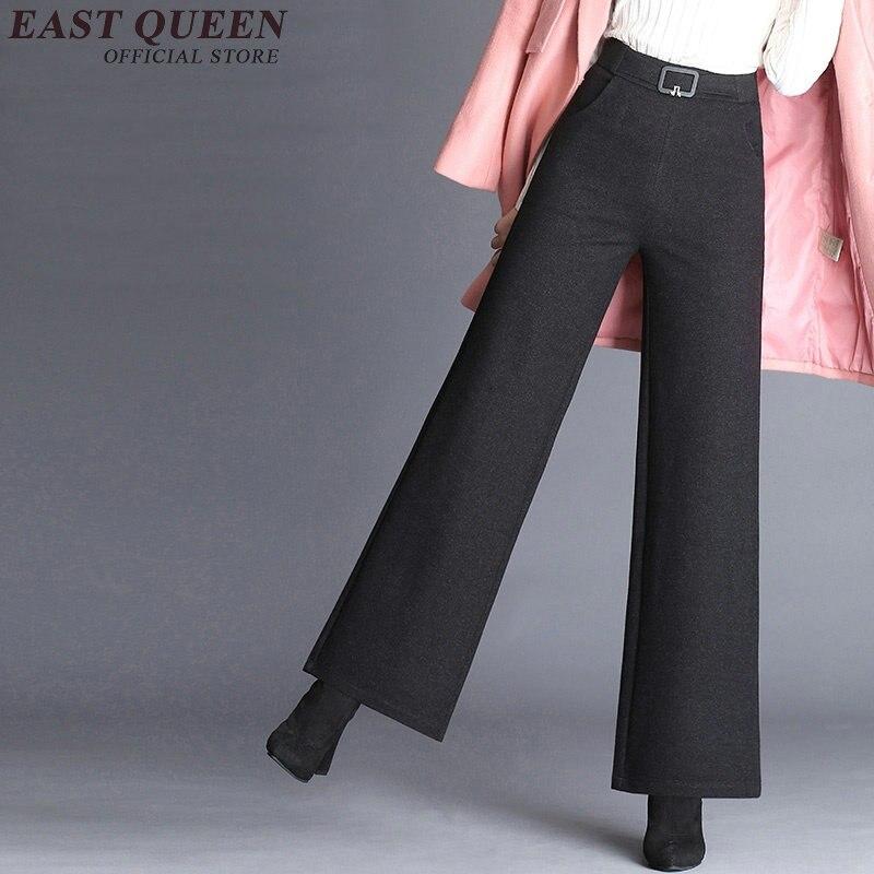 Dames Culotttes Y Rayé Porter 1 Femmes Élégant Sociaux Aa2982 Femelle 2 Bureau Palazzo Large Jambe Pantalon D'affaires EUxnCw60q7
