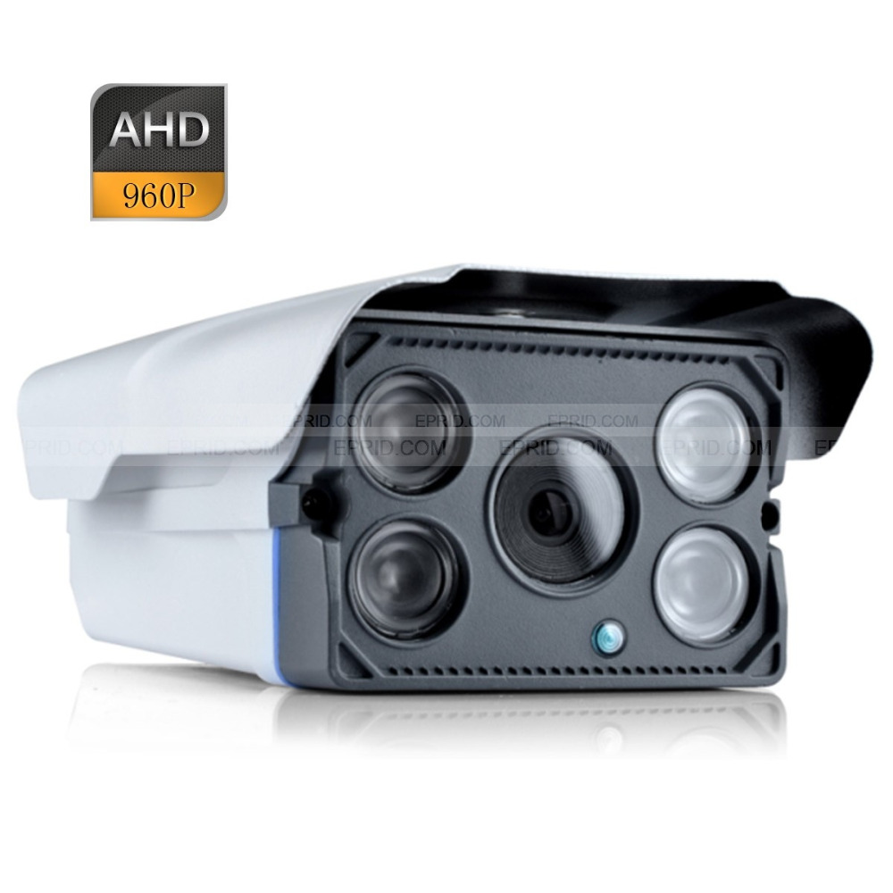 HD AHD 960P 1.3MP Security Bullet Camera Outdoor 4 Array Infrared Night Vision экшен камера bullet hd