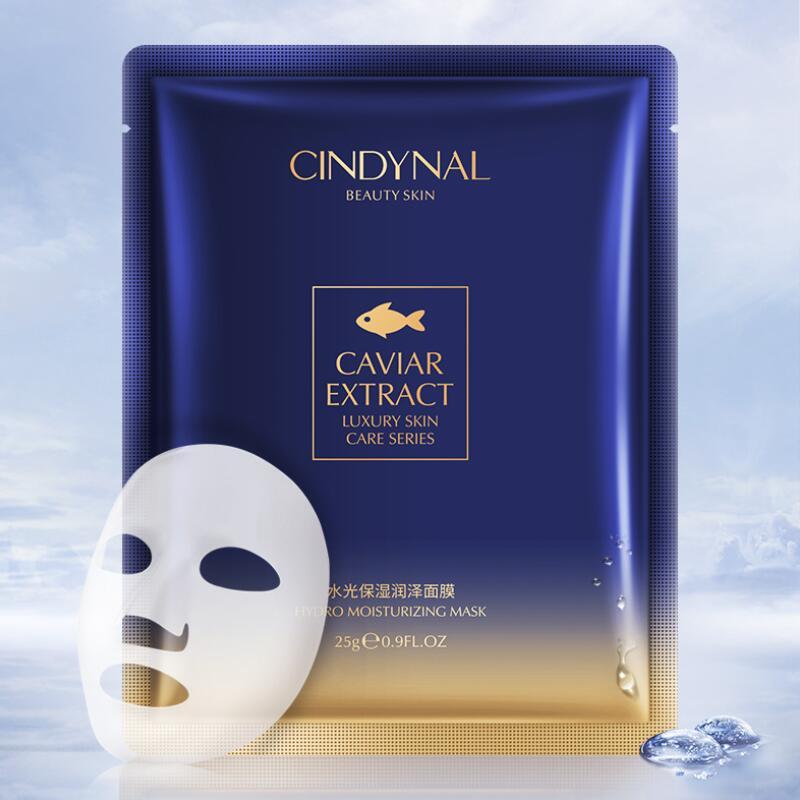 Face Mask Caviar Essence Moisturizing Facial Skin Care Masks For The Face Oil-control Hydration Sheet Mask