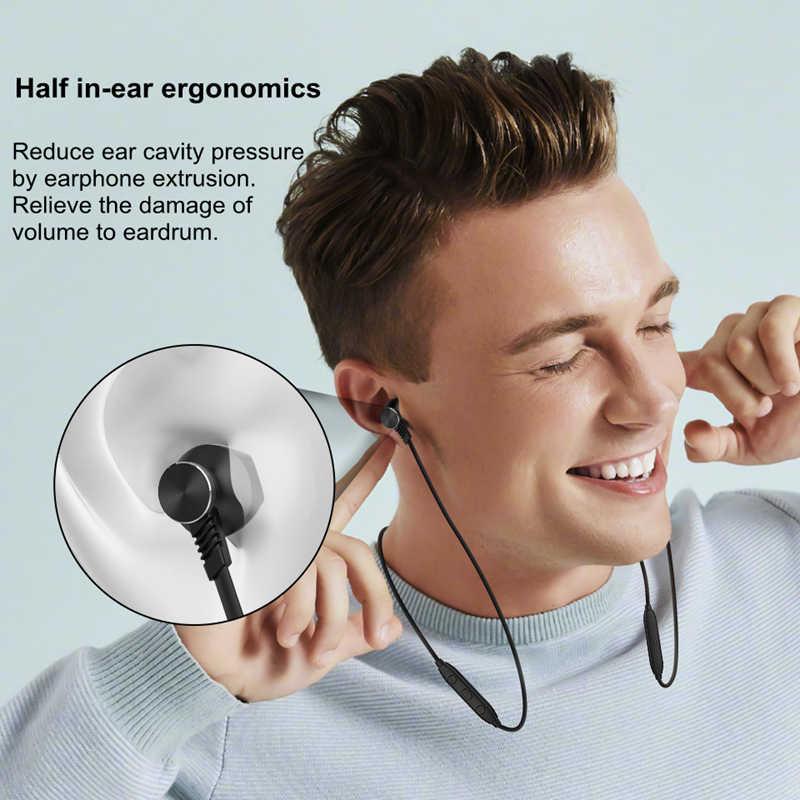 Langsdom L5B/L5Pro Bluetooth イヤホンとマイクワイヤレスヘッドセット Bluetooth ヘッドフォンハーフ耳 fone のデ ouvido bluetooth