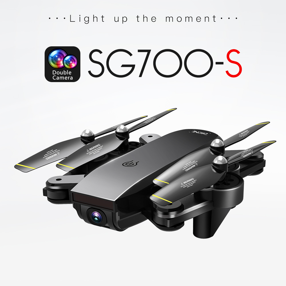 SG700 S RC Quadcopter With 1080P Camera Wide Angle Selfie font b Drone b font Palm