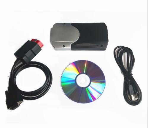 Livraison gratuite 2019 VD DS150E CDP Bluetooth 2016. R0 avec Keygen sur cd Diagnostic pour les voitures delphis camion OBD2 obdii Scanner tcs cdp pro 3