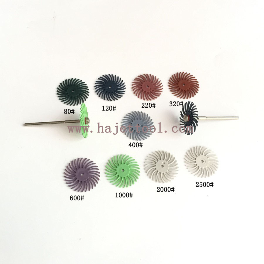 Discreet Free Shipping 1 Polishing Discs Jewelry 3m Bristle Brushes Radial Discs For Groove Polishing 50pcs/bag 2 Mandrels As Gift Beads & Jewelry Making