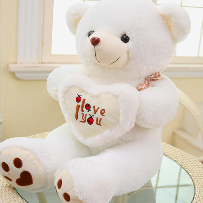 Kawaii 110cm Plush Toys love Bear Large Bear Giant Teddy Bear Plush Toy Gift Plush Ted Movie Ted Bear For Girlfriends Gift cartoon movie teddy bear ted plush toys soft stuffed animal dolls classic toy 45cm 18 kids gift
