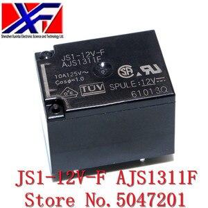 Relé JS1-12V-F AJS1311F DC12V 10A 5PIN