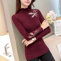 6170 real new maple leaf lace sweater 48