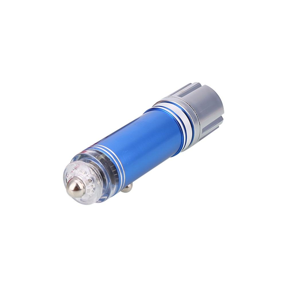 Мини Авто Свежий Воздух Ионный Очиститель бар кислород Озон ионизатор очиститель удалить дым - Цвет: blue