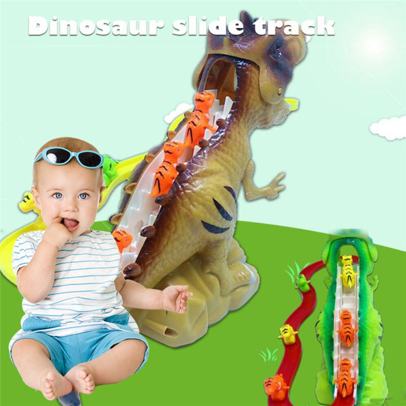 Hildren Electric Tracks Climb Stair Dinosaur Toys Entertainment Intellectual Development Interesting Gift Funny Music