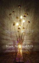 F031-- New Arrival Free Shipping Aluminum Floor Lamps Standing(China)