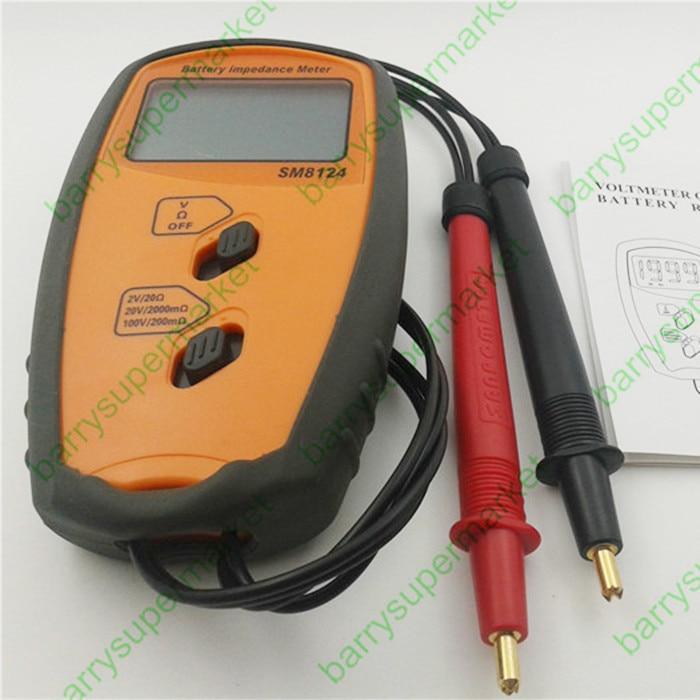 SM8124 Internal Battery Resistance Impedance Meter Tester sm g361hhadser
