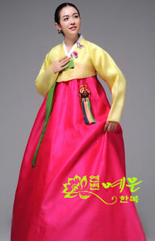 Hanbok Dress Custom Made Korean Traditional Woman Hanbok Korean National Costume