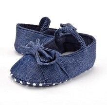 Бесплатная Доставка Девушки Малышей Первый Ходунки Мягкой Подошвой Ярко-Синий Цвет Мэри Джейн Детская Обувь